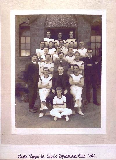 St Johns Gymnasium Club 1921